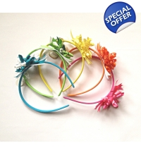 Fruit Burst Headband - korker ribbon headband